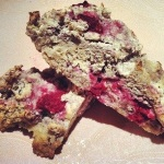 Lemon-Raspberry Coconut Scones (gluten free & vegan)