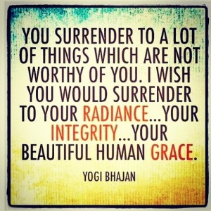 Surrender to Your Grace